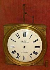 ANCIEN GRAAND MOUVEMENT MÉCANISME HORLOGE CLOCK COMTOISE XIXe