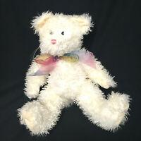 Retired Boyds Bear White Plush Teddy Bear Vintage 1998-2000