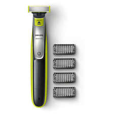 Philips OneBlade QP2530 Rechargeable Li-Ion Shaver Trimmer 4 X Combs + Charger