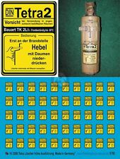 Peddinghaus 1/16 Tetra Fire Extinguisher Markings German AFVs WWII (Late) 3298