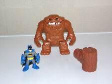 Imaginext Batman CLAYFACE Figure + Batman - Fisher Price Original
