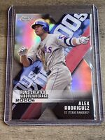 2020 Topps Chrome Alex Rodriguez Decade Of Dominance Die Cut Refractor Yankees