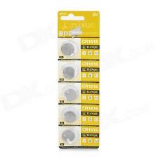 Confezione 5 Batteria Pila CR1616 Bottone Tonda Litio 3V hsb