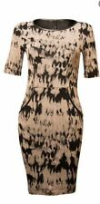 Stretch, Bodycon Camouflage Regular Casual Dresses for Women