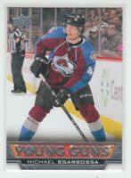 (71565) 2013-14 UPPER DECK YOUNG GUNS MICHAEL SGARBOSSA #454 RC