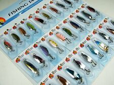 Fishing Lures NEW 30 pcs Various Assorted Laser Spinners Spoon Bait FreeShip New