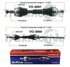 Front Cv Axle Shafts Assembly Set Of 2 Surtrack For Volvo Xc90 2007 11 32l Awd Fits Volvo