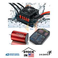 Hobbywing Quicrun Waterproof Motor ESC Combo 10BL60 60A 3656 3800kv 1/10 RC Car