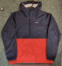 Patagonia Torrentshell Pullover Regenjacke rot blau | Neu