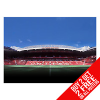Manchester United Ancien Trafford Affiche Imprimé A4 A3 Taille - Acheter 2 Get