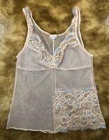 Intimissimi pink lace Camisole Top sleepwear nightwear size L