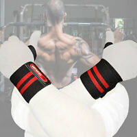 Wrist Straps Thumb Brace Power Weight Lifting Hand Wrap Support Gym Training Bar