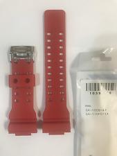 Casio  Original  Band   GA-100B-4  GA-110FC-1   G-Shock   Red   GA110FC    GA100