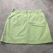 9735 Cotton NWT Skirt Size 4 6 8 10 16 18 or 26W Lined New Womens Tan or Navy