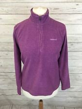 Women's Craghoppers Pull Over Fleece Jacket - Large UK14 - Great Condition