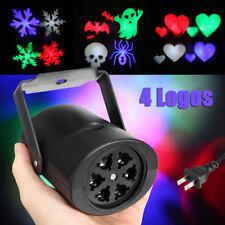 Mini LED RGB Luci Laser Proiettore Paesaggio Natale Lampada Discoteca Giardino