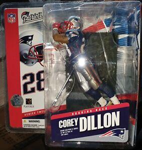 McFarlane NFL 12 Corey Dillon New England Patriots Figur NEU + OVP Selten