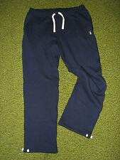 Men's (s) POLO-RALPH LAUREN Fleece Navy Sweatpants Pants w/ back pocket (30-31)