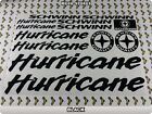HURRICANE Stickers Decals Bicycles Bikes Cycles Frames Forks Mountain BMX 54F