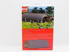 LOT 17588   Busch HO 1513 Runddach-Stall Barn Bausatz NEU in OVP