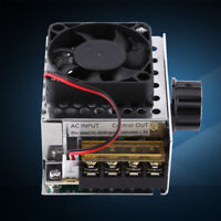 AC 220V 4000W SCR Regulador de Voltaje Eléctrico Controlador Velocidad Luz Motor