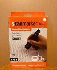 Scanmarker Air Pen Scanner Reader, Digital Highlighter Scanning Pen - black