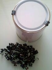 Paint Tin Métal T8 Can Clip De Retenue Sécurité Clip Couvercle X 1000