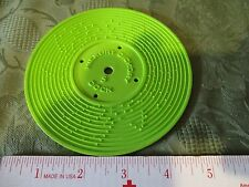 Fisher Price Record Player Vintage 995 Green Hickory Dickory Dock Edelweiss 5