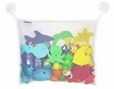 Bath Toy Organizer, Baby Toy Holder for Tub, Quick Dry Mesh Bag Bathtub Storage