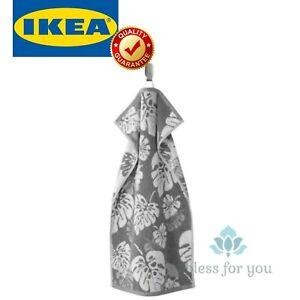 """IKEA ALSKABACKEN Hand Towel Gray 16x28 """""""