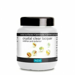 Polyvine Crystal Clear Lacquer - Satin or Gloss