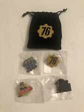 Collectable Fallout 76 Pin Badge Set