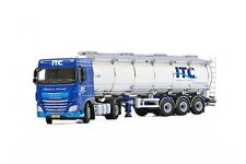 WSI COLLECTIBLES DAF XF SC 4X2 & TANKER TRAILER 3 AXLE ITC HOLLAND BV 01-2011