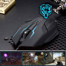USB Wired X5 3D Optical Gaming Game Mouse Mice 1600 DPI For Laptop PC New