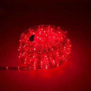 LED Lichterschlauch Lichtschlauch Lichterkette Party Deko Leiste Außen Innen