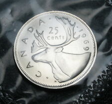 RCM - 1969 - 25-cents - Caribou - Proof Like - Sealed in original cellophane
