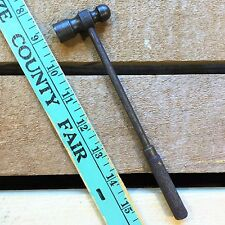 "Vintage Tool: Small 7-1/4"" Blacksmith BALL PEEN HAMMER 1-7/8"" x 5/8"" Head 4.6 oz"
