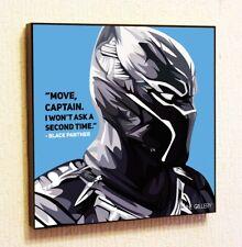 Black Panther Marvel DC Comics decals Decor Print Wall Art Poster pop Canvas