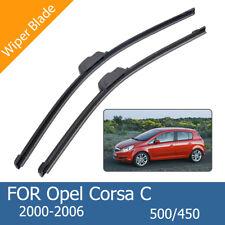 Escobillas Limpiaparabrisas Para Opel Corsa C 500/450mm 20'18'Wiper 2000-2006