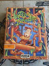 LucasFilm Pipe Dream Commodore 64 Computer Game