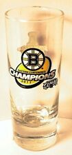 BOSTON BRUINS 2011 STANLEY CUP FINALS SHOT GLASS #2  EASTERN CONFERENCE CHAMPS