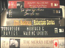 5 Vols Robertson Davies Fifth Business Happy Alchemy For Your Eye Alone The Me