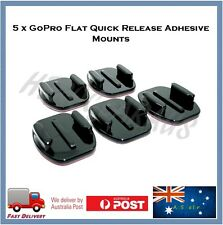 5 X Flat GoPro 3M Adhesive Mount For Go Pro Hero 6 / 5 / 4 Sessions Sticky Hero6