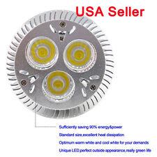 Salt † Light Bright LED Light Bulb Dimmable PAR20 E27 Screw 9W Cool White 4pcs