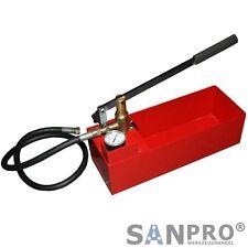 Abdrückpumpe Druckprüfpumpe Druckprobepumpe Prüfpumpe für Abdrücken / Druckprobe
