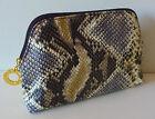 ESTEE LAUDER Snake Skin Print Makeup Cosmetics Bag, Brand NEW!!