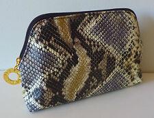 1x ESTEE LAUDER Snake Skin Print Makeup Cosmetics Bag, Brand NEW!!