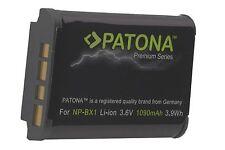 PATONA PREMIUM Battery AKKU 1090mAh für Sony DSC-RX100 VI  / NP-BX1