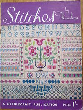 EMBROIDERY Stitches by Penelope Vintage Needlecraft Magazine Booklet