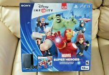New,SEALED Sony PlayStation 3 Disney Infinity 2.0 Marvel Bundle PS3 12GB Console